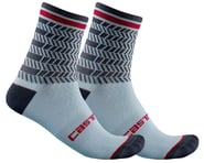 Castelli Avanti 12 Sock (Dusty Blue/Dark Steel Blue) | relatedproducts