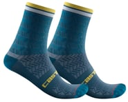 Castelli Avanti 12 Sock (Storm Blue) | product-related