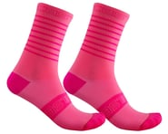 Castelli Superleggera 12 Women's Sock (Pink Fluo) | relatedproducts