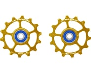 CeramicSpeed SRAM Eagle-14 Pulley Wheels (Gold) (1 x 12 Speed) (Stainless Steel) | relatedproducts