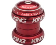 "Chris King NoThreadSet Headset (Red Bold) (1-1/8"") 