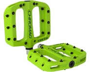 "Chromag Synth Composite Platform Pedals (Green) (9/16"") 