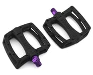 Colony Fantastic Plastic Pedals (Black/Purple) (Pair) | relatedproducts