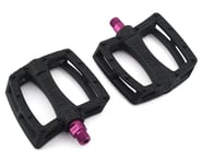 Colony Fantastic Plastic Pedals (Black/Pink) (Pair) | relatedproducts
