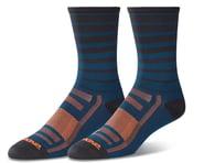 Dakine Singletrack Cycling Socks (Slate Blue Stripe) (S/M) | alsopurchased