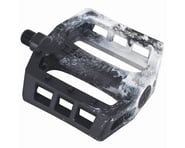 Demolition Trooper Plastic Pedals (Black/White Swirl) (Pair) | relatedproducts