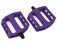 "Demolition Trooper Plastic Pedals (Purple Grapes) (Pair) (9/16"") 