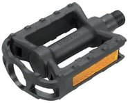 "Dimension Junior Platform Pedals (Black) (Plastic) (1/2"") 