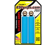 ESI Grips Racer's Edge Silicone Grips (Aqua) (30mm) | relatedproducts