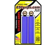 ESI Grips Racer's Edge Silicone Grips (Blue) (30mm) | relatedproducts