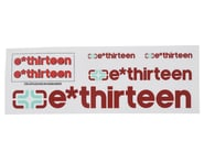 E*Thirteen Race Handlebar Decal Set (All 'Round Red) | relatedproducts