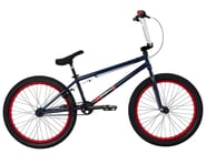 "Fit Bike Co 2021 Series 22 BMX Bike (21.125"" Toptube) (Navy Blue) 
