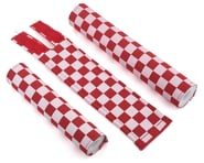 Flite Checkerboard BMX Padset (Red/White) | relatedproducts