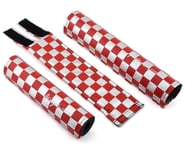 Flite Checkerboard Padset (Red/Chrome) | product-related