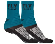 Fly Racing Factory Rider Socks (Blue/Black/Grey) | product-related