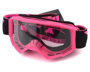 Fly Racing Focus Youth Goggle (Pink) (Clear Lens) | alsopurchased