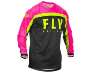 Fly Racing F-16 Jersey (Neon Pink/Black/Hi-Vis) (L) | alsopurchased