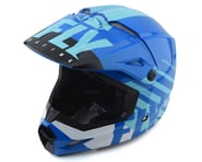 Fly Racing Kinetic K120 Helmet (Blue/White) | product-related