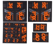 Fox Suspension Heritage Decal Kit (Orange) | relatedproducts