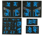 Fox Suspension Heritage Decal Kit (Blue) | relatedproducts