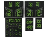 Fox Suspension Heritage Decal Kit for Forks & Shocks (Green) | product-related