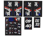 Fox Suspension Heritage Decal Kit for Forks & Shocks (Red/White/Blue) | product-related