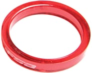 "FSA PolyCarbonate Headset Spacers (Red) (1-1/8"") (10) 