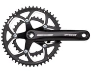 FSA Vero Compact Crankset (Black) (2 x 9 Speed) (JIS Square Taper) | product-related