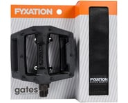 Fyxation Gates Pedals & Strap Kit (Black) | product-related