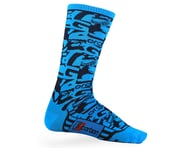 Giordana FR-C Tall Sock Camo (Navy/Cyan) | relatedproducts