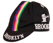 Giordana Brooklyn Cap w/ Stripes (Black) (One Size Fits Most) | alsopurchased