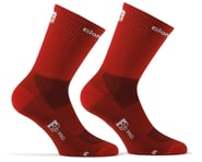 Giordana FR-C Tall Solid Socks (Pomegranate Red) | product-related
