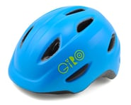 Giro Scamp Kid's Bike Helmet (Matte Blue/Lime) | alsopurchased