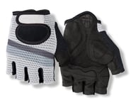 Giro SIV Retro Short Finger Bike Gloves (White/Grey Stripe) | relatedproducts