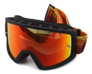 Giro Blok Mountain Goggles (Orange/Black Heatwave) (Amber Lens) | relatedproducts