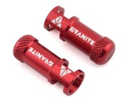 Granite-Design Juicy Nipples Presta Valve Core Remover Caps (Red) (2) | alsopurchased