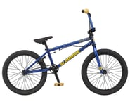 "GT 2021 Slammer BMX Bike (20"" Toptube) (Trans Electric Blue) 