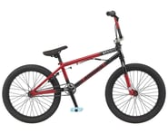 "GT 2021 Slammer BMX Bike (20"" Toptube) (Satin Black/Gloss Red Fade) 