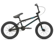 "Haro Bikes 2021 Downtown 16"" Kids BMX Bike (16.4"" Toptube) (Black) 