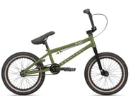 "Haro Bikes 2021 Downtown 16"" Kids BMX Bike (16.4"" Toptube) (Matte Army Green) 