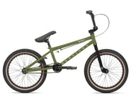 "Haro Bikes 2021 Downtown 18"" Kids Bike (18"" Toptube) (Matte Army Green) 