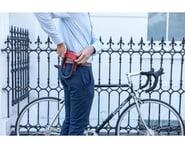Hiplok DX Wearable Hardened Steel Shackle U-Lock (Orange) (14mm) | relatedproducts