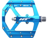 "HT AE03 Evo+ Platform Pedals (Marine Blue) (Aluminum) (9/16"") 