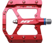 "HT AE05 Evo+ Platform Pedals (Red) (Aluminum) (9/16"") 