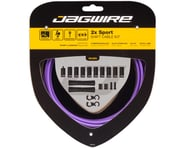 Jagwire 2x Sport Shift Cable Kit SRAM/Shimano (Purple) | alsopurchased