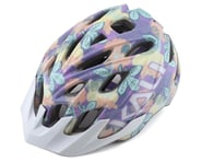 Kali Chakra Youth Helmet (Floral Gloss Purple) | relatedproducts