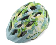 Kali Chakra Youth Helmet (Floral Gloss Blue) | product-related