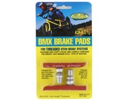 Kool Stop BMX Brake Pads (Threaded) (Salmon) (Pair) | product-related