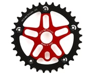 MCS Alloy Spider & Chainring Combo (Red/Black) | alsopurchased