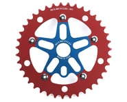 MCS Alloy Spider & Chainring Combo (Blue/Red) | relatedproducts